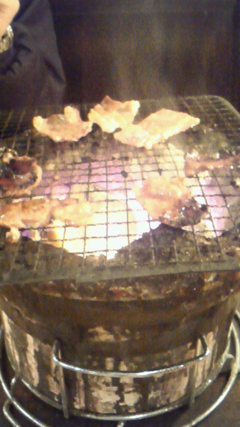 編集長と焼き肉。